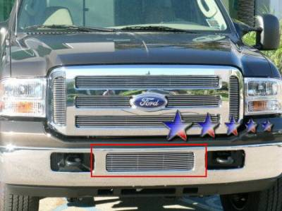 Grilles - Custom Fit Grilles - APS - Ford F550 APS Billet Grille - Bumper - Aluminum - F65798A