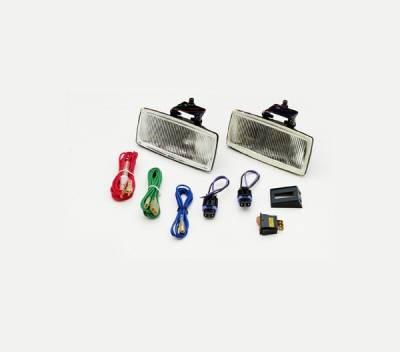 Headlights & Tail Lights - Headlights - Xenon - Nissan 280ZX Xenon Rectangular Light Kit - 3003