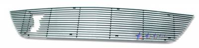 Grilles - Custom Fit Grilles - APS - Ford Mustang APS Billet Grille - with Logo Opening - Upper - Aluminum - F65802A