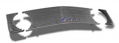 Grilles - Custom Fit Grilles - APS - Ford Mustang APS Billet Grille - Upper - Aluminum - F66013A