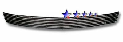 Grilles - Custom Fit Grilles - APS - Ford Mustang APS Black Billet Grille - Bumper - Aluminum - F66014H
