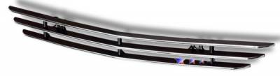 Grilles - Custom Fit Grilles - APS - Ford Mustang APS Billet Grille - Scoop - Aluminum - F66015A