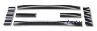 Grilles - Custom Fit Grilles - APS - Ford E-Series APS Billet Grille - Upper - Aluminum - F66658A