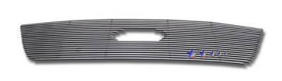 Grilles - Custom Fit Grilles - APS - Ford Fusion APS Billet Grille - Upper - Aluminum - F66659A