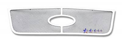 Grilles - Custom Fit Grilles - APS - Ford Expedition APS Wire Mesh Grille - Upper - Stainless Steel - F75372T