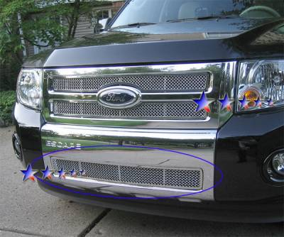 Grilles - Custom Fit Grilles - APS - Ford Escape APS Wire Mesh Grille - F75784T