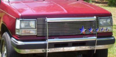 Grilles - Custom Fit Grilles - APS - Ford Bronco APS Billet Grille - Upper - Aluminum - F85006A