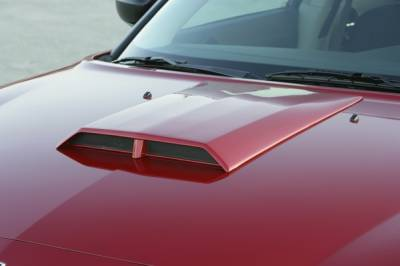 Charger - Hood Scoops - Xenon - Dodge Charger Xenon Hood Scoop - 12138