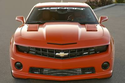 Xenon - Chevrolet Camaro Xenon Louvered Hood Scoop Kit - Left & Right - 12920