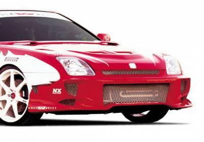 Body Kits - Hood Scoops - Wings West - Honda Prelude Wings West Hood Bonnet - 890310