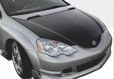 Body Kits - Hood Scoops - Wings West - Acura RSX Wings West Hood Bonnet - 890651