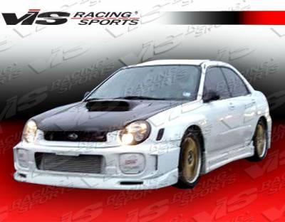 WRX - Hood Scoops - VIS Racing - Subaru WRX VIS Racing STI Hood Scoop - 02SBWRX4DSTI-009