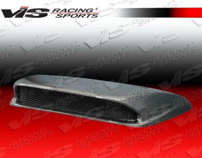 WRX - Hood Scoops - VIS Racing - Subaru WRX VIS Racing STI Carbon Fiber Hood Scoop - 06SBWRX4DSTI-019C