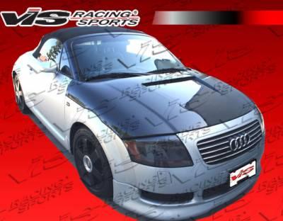 TT - Hoods - VIS Racing - Audi TT VIS Racing G Tech Black Carbon Fiber Hood - 00AUTT2DGTH-010C