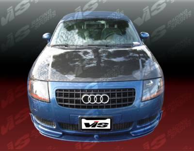 TT - Hoods - VIS Racing - Audi TT VIS Racing OEM Black Carbon Fiber Hood - 00AUTT2DOE-010C