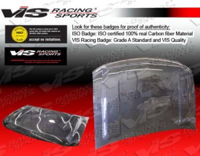 Silverado - Hoods - VIS Racing - Chevrolet Silverado VIS Racing OEM Black Carbon Fiber Hood - 00CHSUB4DOE-010C