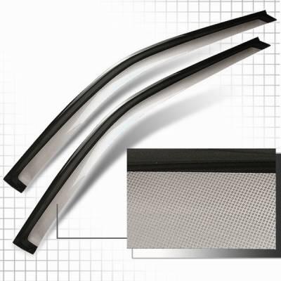 Accessories - Window Visors - Custom Disco - Honda Civic 2DR Custom Disco Rain Guard - GR-CV962-ATW