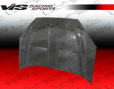 Focus ZX3 - Hoods - VIS Racing - Ford Focus VIS Racing Xtreme GT Black Carbon Fiber Hood - 00FDFOC2DGT-010C