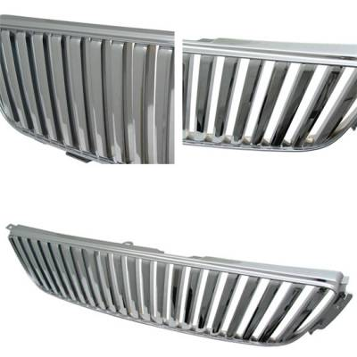 Grilles - Custom Fit Grilles - Custom - IS300 ALTEZZA JDM CHROME SPORT GRILLE GRILL