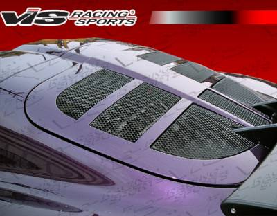 Exige - Hoods - VIS Racing - Lotus Exige VIS Racing OEM Style Carbon Fiber Engine Lid - 00LTEXI2DOE-021C