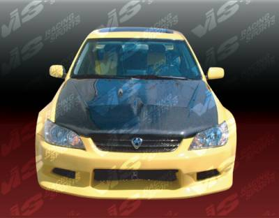 IS - Hoods - VIS Racing - Lexus IS VIS Racing Invader Black Carbon Fiber Hood - 00LXIS34DVS-010C