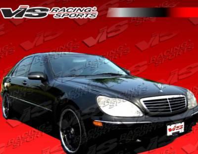 S Class - Hoods - VIS Racing - Mercedes-Benz S Class VIS Racing OEM Black Carbon Fiber Hood - 00MEW2204DOE-010C