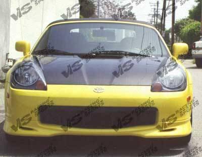 MRS - Hoods - VIS Racing - Toyota MRS VIS Racing OEM Black Carbon Fiber Hood - 00TYMRS2DOE-010C