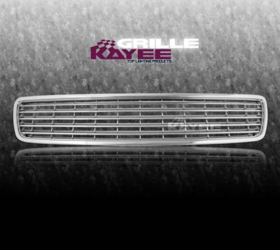 Grilles - Custom Fit Grilles - Custom - SPORTS FRONT GRILL  Chrome GRILLE