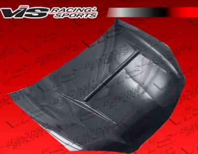RSX - Hoods - VIS Racing - Acura RSX VIS Racing N-1 Black Carbon Fiber Hood - 02ACRSX2DN1-010C