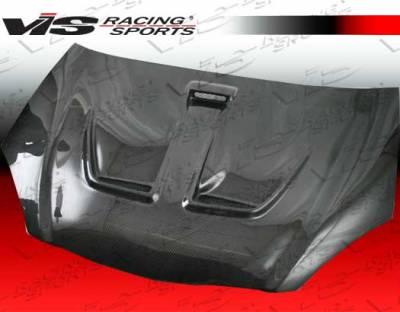 RSX - Hoods - VIS Racing - Acura RSX VIS Racing Techno R Black Carbon Fiber Hood - 02ACRSX2DTNR-010C