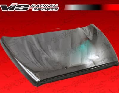 Ram - Hoods - VIS Racing - Dodge Ram VIS Racing OEM Black Carbon Fiber Hood - 02DGRAM2DOE-010C