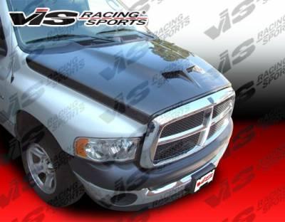Ram - Hoods - VIS Racing - Dodge Ram VIS Racing Outlaw Series 2 Carbon Fiber Hood - 02DGRAM2DOL2-010C