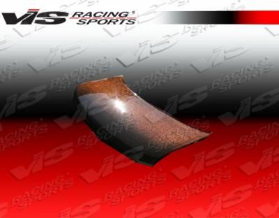 Civic HB - Hoods - VIS Racing - Honda Civic HB VIS Racing OEM Style Gold Kevlar Fiber Hood - 02HDCVCHBOE-010G