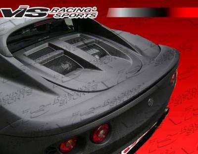Elise - Hoods - VIS Racing - Lotus Elise VIS Racing OEM Style Carbon Fiber Engine Lid - 02LTELI2DOE-021C