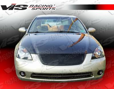 Altima - Hoods - VIS Racing - Nissan Altima VIS Racing OEM Black Carbon Fiber Hood - 02NSALT4DOE-010C