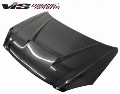 Altima - Hoods - VIS Racing - Nissan Altima VIS Racing Invader Carbon Fiber Hood - 02NSALT4DVS-010C
