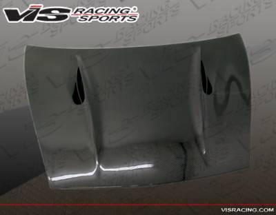 Cayenne - Hoods - VIS Racing - Porsche Cayenne VIS Racing A Tech Fiberglass Hood - 02PSCAY4DATH-010