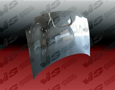 Neon 2Dr - Hoods - VIS Racing - Dodge Neon VIS Racing SRT Black Carbon Fiber Hood - 03DGNEO4DSRT-010C