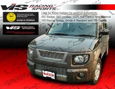 Element - Hoods - VIS Racing - Honda Element VIS Racing OEM Black Carbon Fiber Hood - 03HDELE4DOE-010C