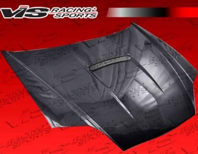 Tiburon - Hoods - VIS Racing - Hyundai Tiburon VIS Racing SVX Carbon Fiber Hood - 03HYTIB2DSVX-010C