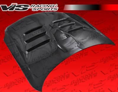 G35 2Dr - Hoods - VIS Racing - Infiniti G35 2DR VIS Racing EVO Black Carbon Fiber Hood - 03ING352DEV-010C