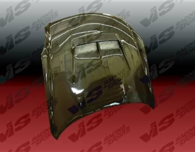 G35 2Dr - Hoods - VIS Racing - Infiniti G35 2DR VIS Racing GTC Carbon Fiber Hood - 03ING352DGTC-010C