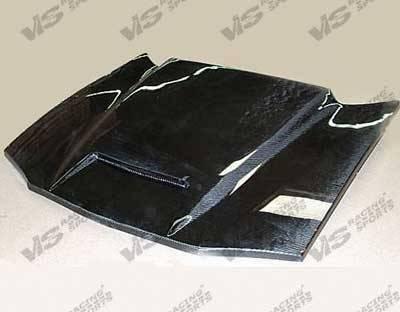 Navigator - Hoods - VIS Racing - Lincoln Navigator VIS Racing Fiberglass Outlaw Type 1 Hood - 03LCNAV4DOL1-010