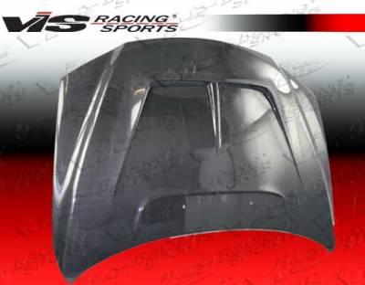 6 4Dr - Hoods - VIS Racing - Mazda 6 VIS Racing Monster Black Carbon Fiber Hood - 03MZ64DMON-010C