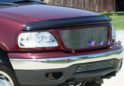 Grilles - Custom Fit Grilles - APS - Ford F150 APS Billet Grille - Bumper - Stainless Steel - F85085S