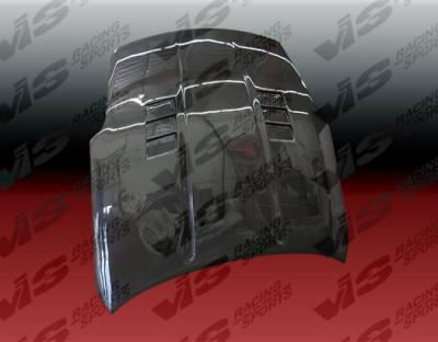 350Z - Hoods - VIS Racing - Nissan 350Z VIS Racing GTC Black Carbon Fiber Hood - 03NS3502DGTC-010C