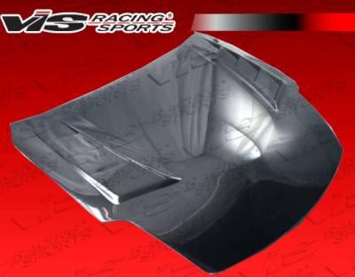 350Z - Hoods - VIS Racing - Nissan 350Z VIS Racing Terminator GT Black Carbon Fiber Hood - 03NS3502DTMGT-010C