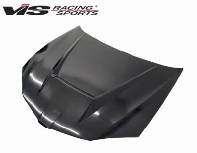 Sunfire - Hoods - VIS Racing - Pontiac Sunfire VIS Racing Invader Type 6 Carbon Fiber Hood - 03PTSUN2DVS-010C