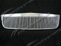 Grilles - Custom Fit Grilles - Custom - Classic Chrome Front Grille
