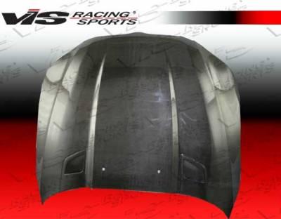 5 Series - Hoods - VIS Racing - BMW 5 Series VIS Racing Penta Black Carbon Fiber Hood - 04BME604DPEN-010C